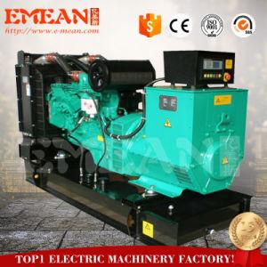 Три фазы переменного тока 64квт большого открытого типа Water-Cooled дизельного генератора