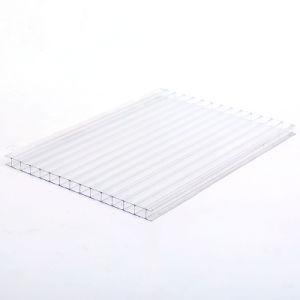 Feuille de polycarbonate Twin-Wall, PC, ordinateur de bord de feuille creux