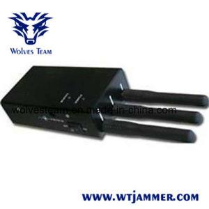 5-band de Draagbare GPS & Stoorzender van het Signaal van de Telefoon van de Cel