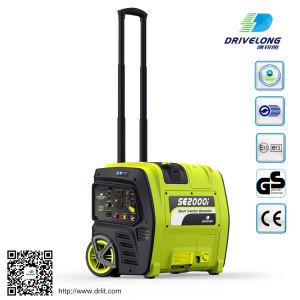2kw gasolina generador Inverter Digital generador inteligente