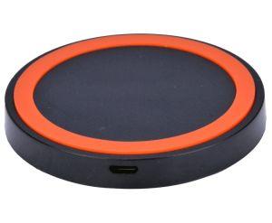 Círculo inteligente de carga inalámbrica Qi Mat cargador inalámbrico estándar Qi para Smart Phone
