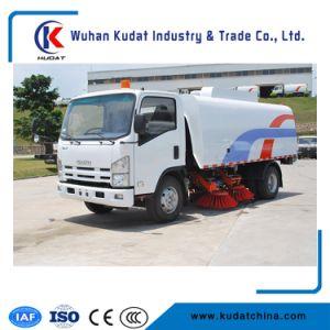 Dongfeng 4X2 дороге очистите погрузчик / швабры дорожного движения погрузчика /Швабра дизельного двигателя