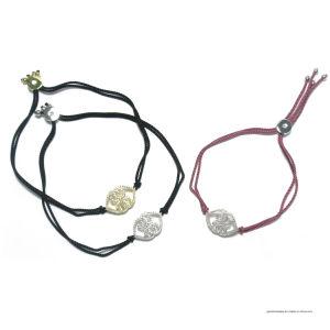 925の銀製の魅力(BT6692)の革ロープのブレスレット