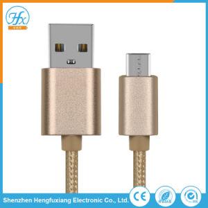 5V/2.1A 1m携帯電話のための充満マイクロUSBのデータケーブル