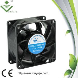 Vente chaude 80X80X38 12 Volt haut régime faible bruit des ventilateurs du refroidisseur d'Axial