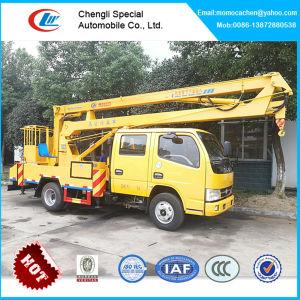 Nova plataforma de trabalho antena montada em camião 9-14m de altura de plataforma de elevação do veículo