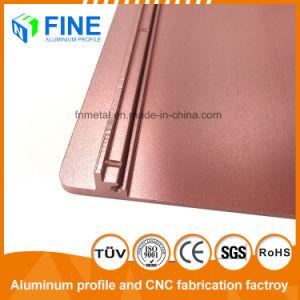 Sezione di alluminio anodizzata sabbiatura d'acciaio per il prodotto di industria tramite personalizzato