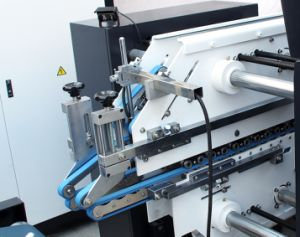 Coin de la qualité de quatre à six Plieuse automatique de machines Gluer (GK-800GS)