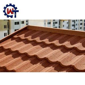 Wante石造りの上塗を施してあるバングラデシュの波形の屋根ふきシート