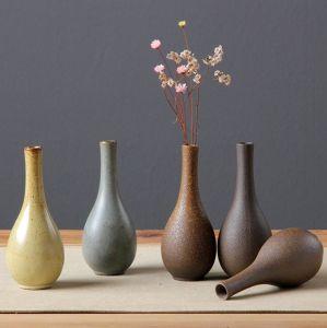 Современный декор для настольных ПК керамические мини-Flower изображение большего размера