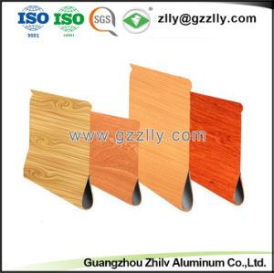 Soffitto di alluminio di vendita della fabbrica del grano della sgocciolatura di legno calda dell'acqua per la decorazione