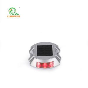 Alliage d'aluminium haute résistance route solaire Goujon/Cat Eye LED Double-Side 6*106*95*22mm