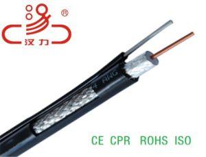 Rg59 Siamese Coaxiale 2c Kabel van de Macht Cable+ voor kabeltelevisie/de Transmissie van de Macht