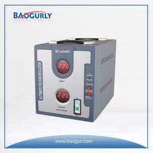 220V de digitale Elektronische Automatische Regelgever van het Voltage van de Stabilisator van het Voltage 5000va