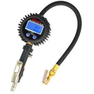 0.1 La Resolución de Inflador de neumáticos Digital con indicador de presión, 255 Psi de latón para Servicio Pesado Ari Chuck Indicador de 3,5 pulgadas, 529g de peso N.