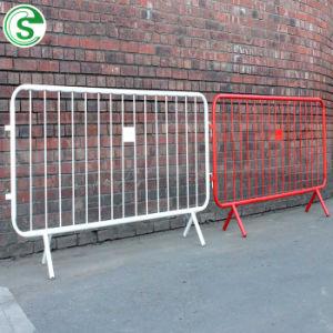 금속 주문 색깔 경찰은 연주회 사건 군중 통제 방벽을 Barricade