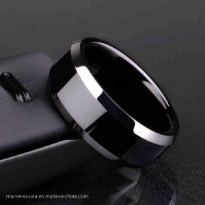 De uitstekende Juwelen van de Manier van de Ringen van de Mensen van het Titanium van de Toebehoren van de Manier Zwarte