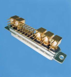 Heiße Zellen-Fabrik-kundenspezifische 17W5 Energie D-SUB