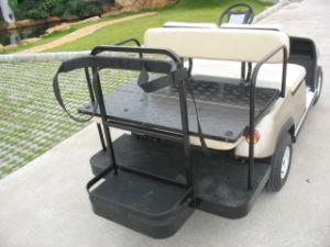 緑4のSeatersの電気ゴルフ車(LTA2+2)