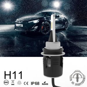 B6 H11 Cabezal LED LED Lámpara Luz de coche con turbina 24W 3600LM