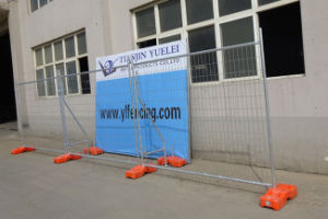 Gi sur le fil enduit de PVC maillon de chaîne de fil de fer et de fer de clôture de piscine clôtures clôture en fer forgé noir/de vente