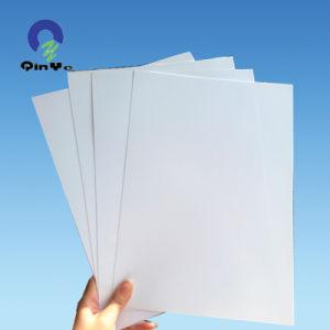 OffsetのためのPVC Glossy Glossy White Plastic Sheet