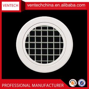 Os sistemas HVAC grelha de ventilação de alumínio Grelha Eggcrate redonda