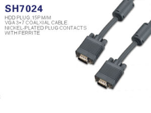 15pin 3m 5m 10m 15m 30m 50m 20 Meter VGA-zum VGA-Kabel für Computer Fernsehapparat HDTV