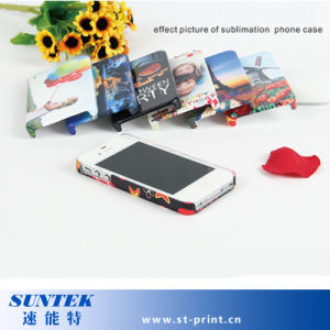 El TPU+PC Heat Transfer sublimación caso Teléfono