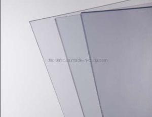 Strato trasparente del PVC dell'alta di definizione plastica rigida trasparente antistatica della radura