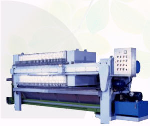 Shuangfa Alto-Power Iron Cast Mechanical Micro Plate e Frame Pressure Filter