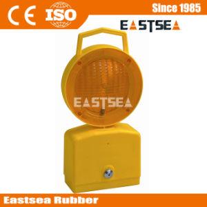 黄色及び赤い点滅LEDのバリケードの信号