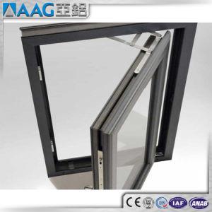 アルミニウムフレームによって二重ガラスをはめられる緩和されたガラスの開き窓のWindows