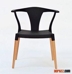 Presidenza di legno classica della plastica di Wishbone della mobilia della sala da pranzo