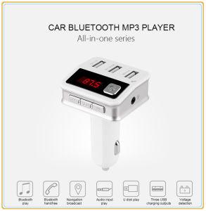 Cargador de coche nuevo de fábrica con transmisor de FM (BC12).