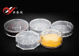 Octagon-Form-Armband-Bildschirmanzeige-Plastikkasten mit unterschiedlichem Deckel