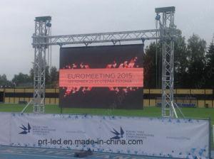 Exibição de publicidade exterior coberta, tela de vídeo a cores, Bicicleta LED (P3.91, P4.81, P5.95. P6.25 Painel)