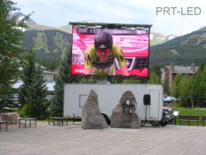 Biens meubles montés sur camion de la publicité de plein air pleine couleur LED Billboard (P6, P8, P10, P16)