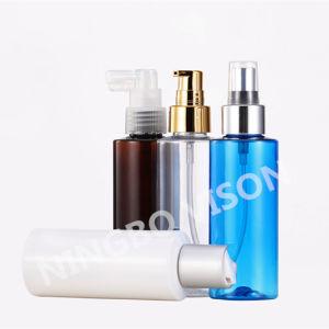 4 oz garrafa spray de plástico com pulverizador de névoa fina