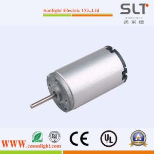 motore elettrico spazzolato CC 12V per l'apparecchio per uso domestico