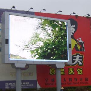 Для поверхностного монтажа на открытом воздухе светодиодный дисплей для отображения видео