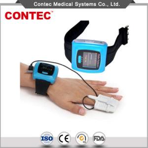 身につけられるパルスの酸化濃度計(承認されるCE&FDA) - Contec