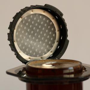 Корпус из нержавеющей стали для приготовления кофе Dripper, конусообразный фильтр кофе