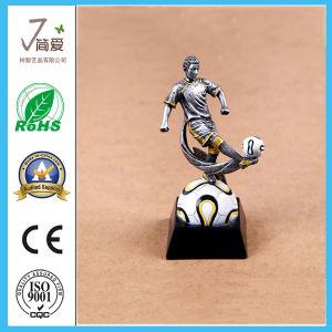 Copa do Troféu Prêmios Polyresin Figurine, Prêmio de Metal Troféu de decoração