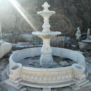 Pedra mármore chafariz de granito de várias cores usadas para decoração de jardim