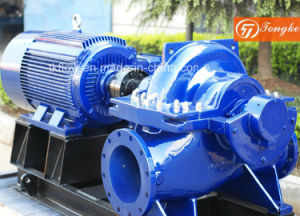 Divida o cárter da bomba de água centrífuga para proteção contra incêndio