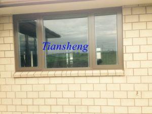 이중 유리를 끼우기 사이 붙박이 장님을%s 가진 알루미늄 열 틈 여닫이 창 Windows