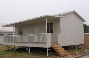 Structure en acier modulaires préfabriquées réservoir Mobile Home Chambre mobiliers de jardin d'expédition pour le Chili