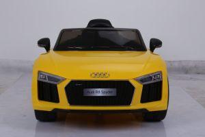 Audi R8 licenciado operado a bateria viagem de carro de brincar com telecomando