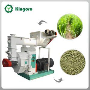 牧草地のための飼料の餌機械